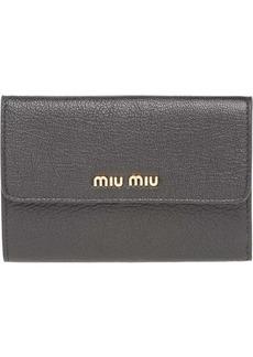 Miu Miu short contintental wallet