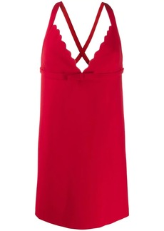 Miu Miu short crisscross dress