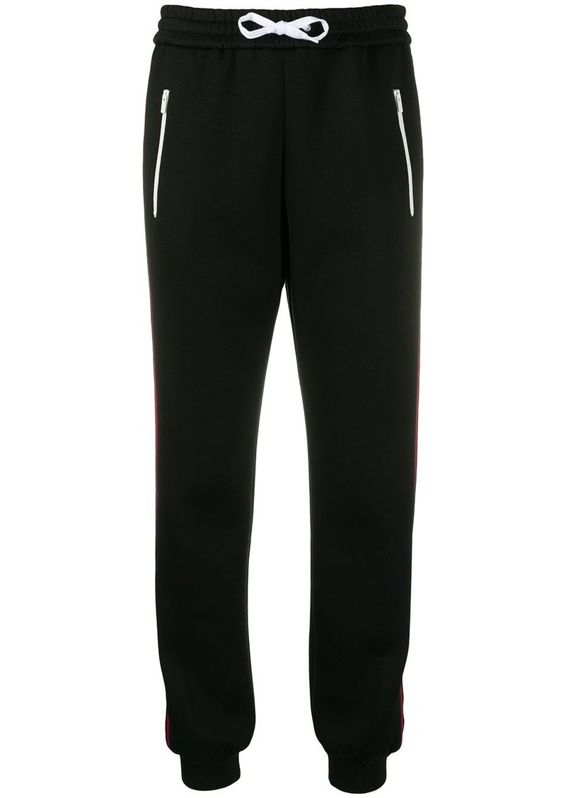 Miu Miu side panelled logo track pants