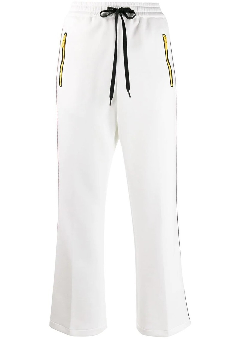 Miu Miu side stripe track pants