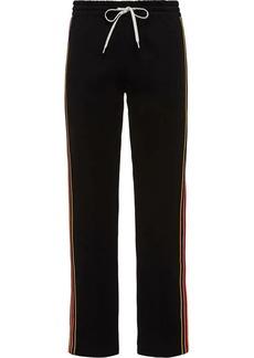 Miu Miu side stripes detail track trousers