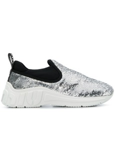 Miu Miu slip-on sequin sneakers