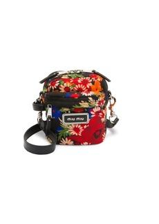 Miu Miu Small Floral Crossbody Bag