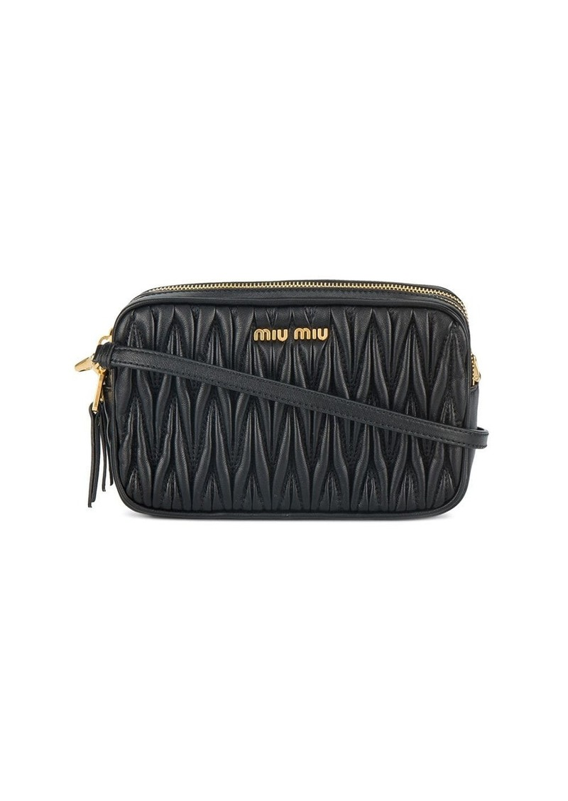 Miu Miu mini matelassé crossbody bag