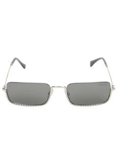 Miu Miu Squared Crystal Embellished Sunglasses