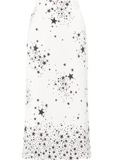 Miu Miu star print A-line skirt