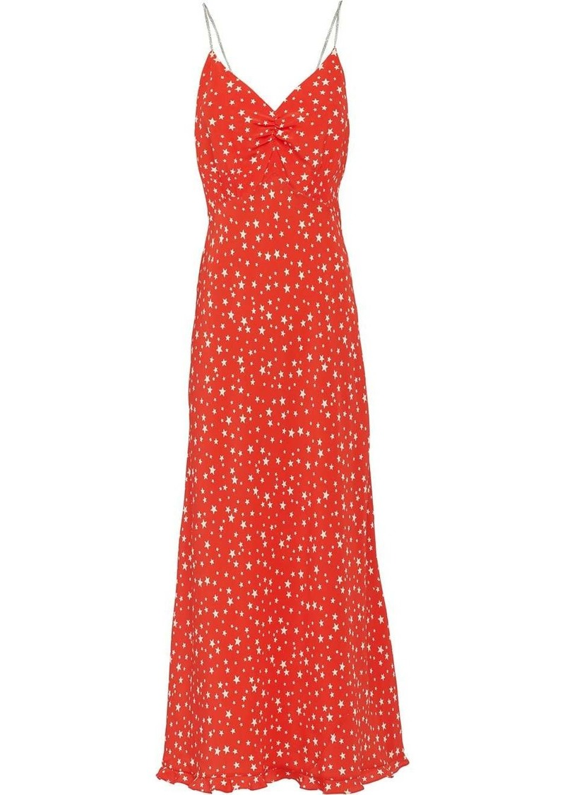 Miu Miu star print dress
