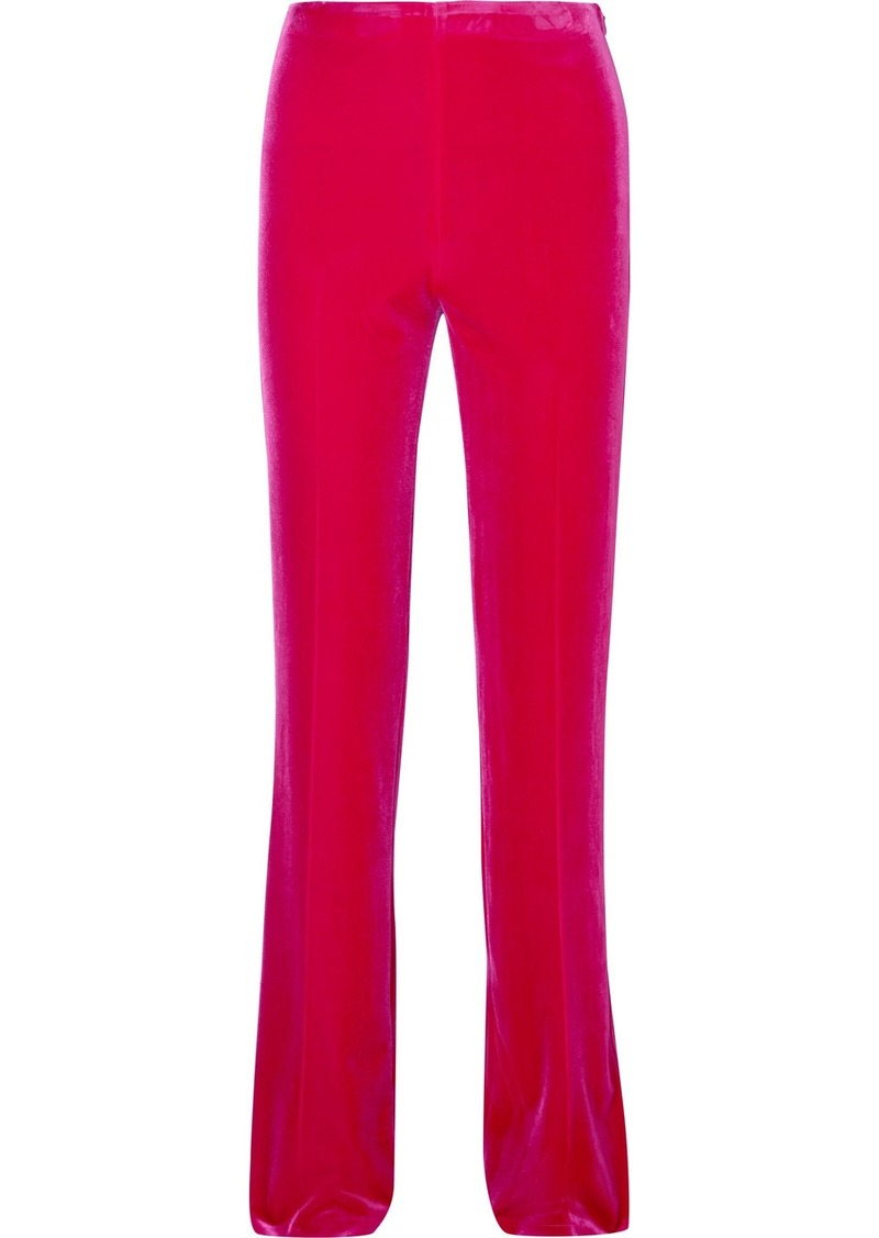 Miu Miu Stretch-velvet Flared Pants