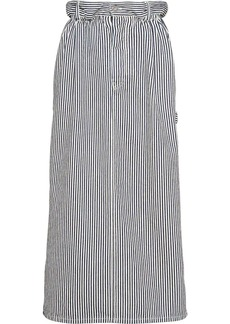Miu Miu striped straight skirt