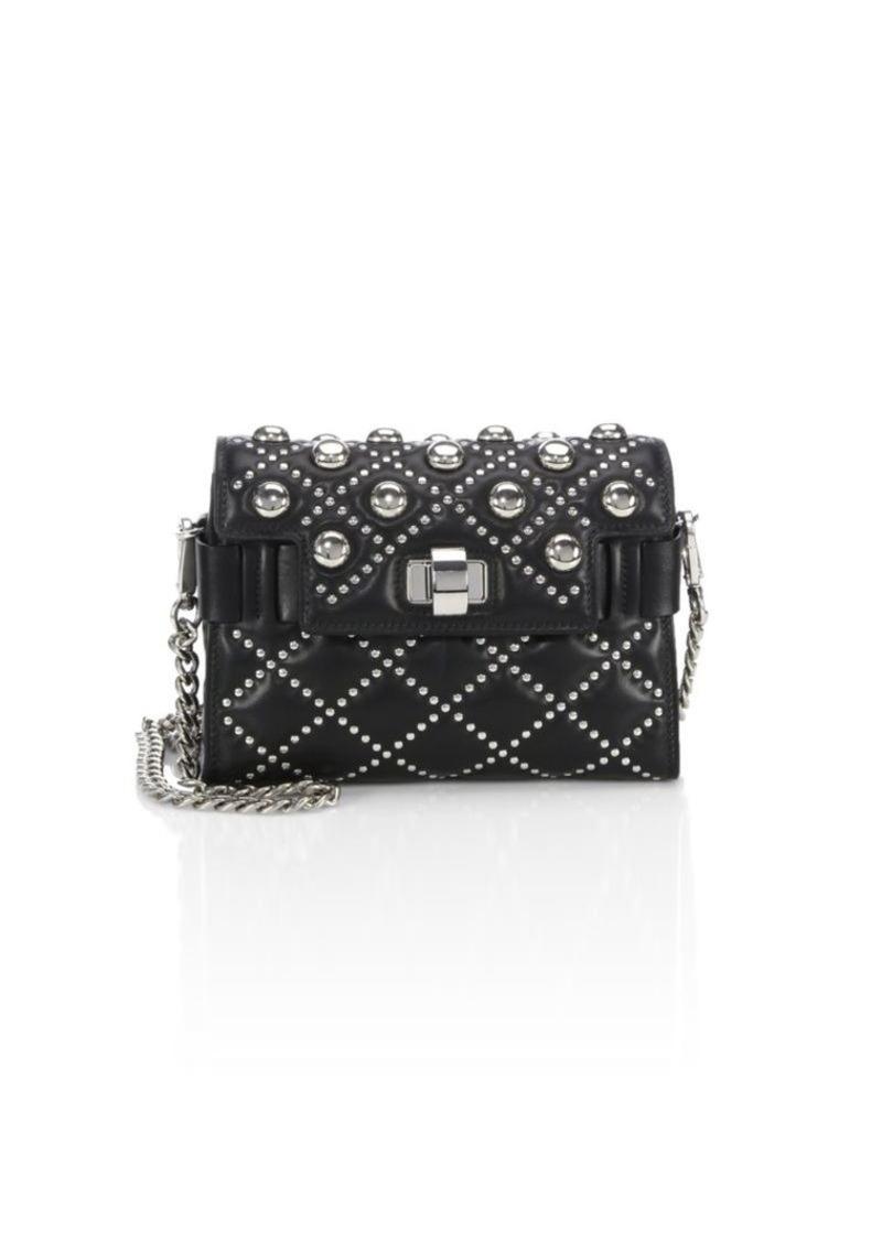 256156b51f98 Miu Miu Studded Leather Chain Shoulder Bag