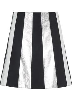 Miu Miu panelled A-line skirt