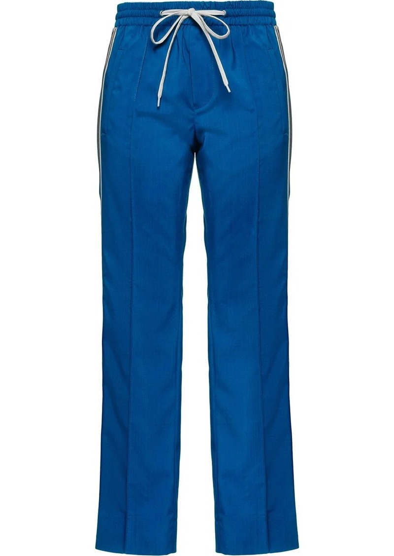Miu Miu tailored style track trousers