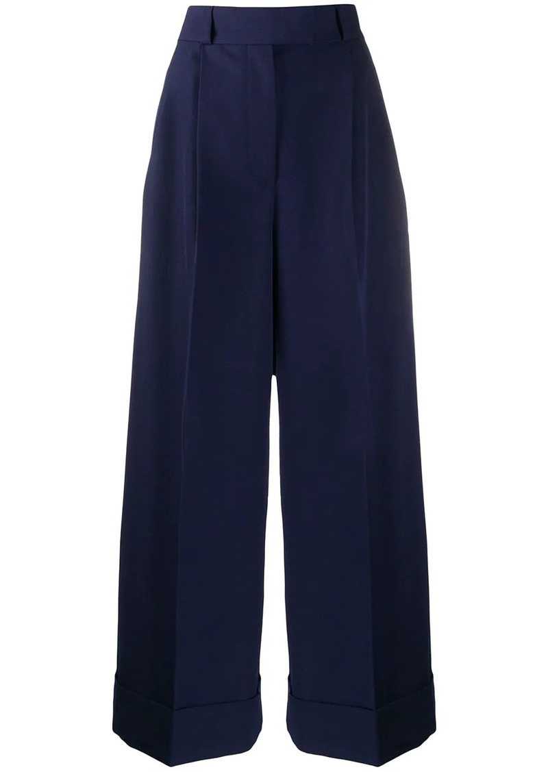 Miu Miu tailored wide leg trousers