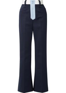 Miu Miu Tech-jersey Wide-leg Pants