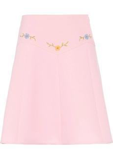 Miu Miu Technical sablé skirt