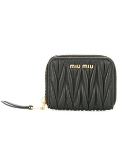 Miu Miu textured zip purse