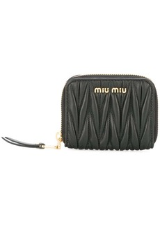 Miu Miu textured zip purse