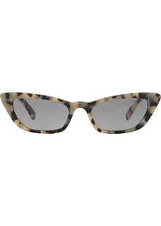 Miu Miu tortoiseshell cat eye sunglasses