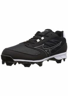 Mizuno Men's 9-Spike Advanced Dominant TPU Molded Baseball Cleat Shoe  9.5 D US