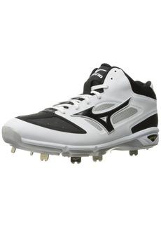 Mizuno Men's Dominant IC MID Baseball Shoe  14 D US