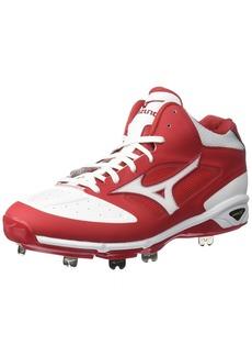 Mizuno Men's Dominant IC MID Baseball Shoe   D US