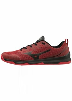 Mizuno Men's TC-02 Cross Training Shoe Cross Training Sneakers for all forms of Exercise Red-Black  D US