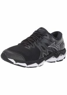 Mizuno Men's Wave Horizon 3 Running Shoe Black-Dark Shadow  D US