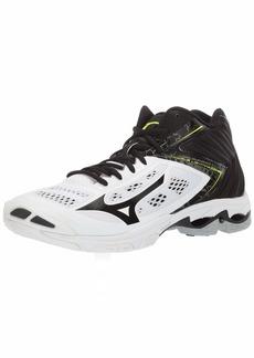 Mizuno mens Wave Lightning Z5 Mid Indoor Court Shoe   US