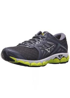Mizuno Men's Wave Sky Running Shoes Gray Stone-Silver 13 D US