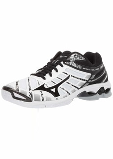 Mizuno Men's Wave Voltage Volleyball Shoe whiteblack  D US
