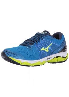 Mizuno Running Men's Wave Horizon Shoes Directoire Blue/Safey Yellow/Peacoat 11 D US