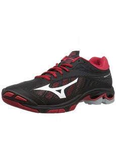 Mizuno Wave Lightning Z4 Volleyball Shoes Black/red Women's  B US