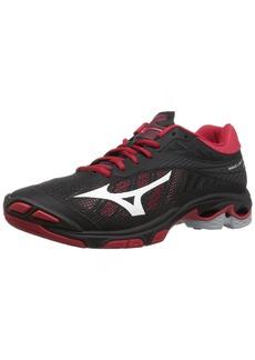 Mizuno Wave Lightning Z4 Volleyball Shoes Black/red Women's  B US