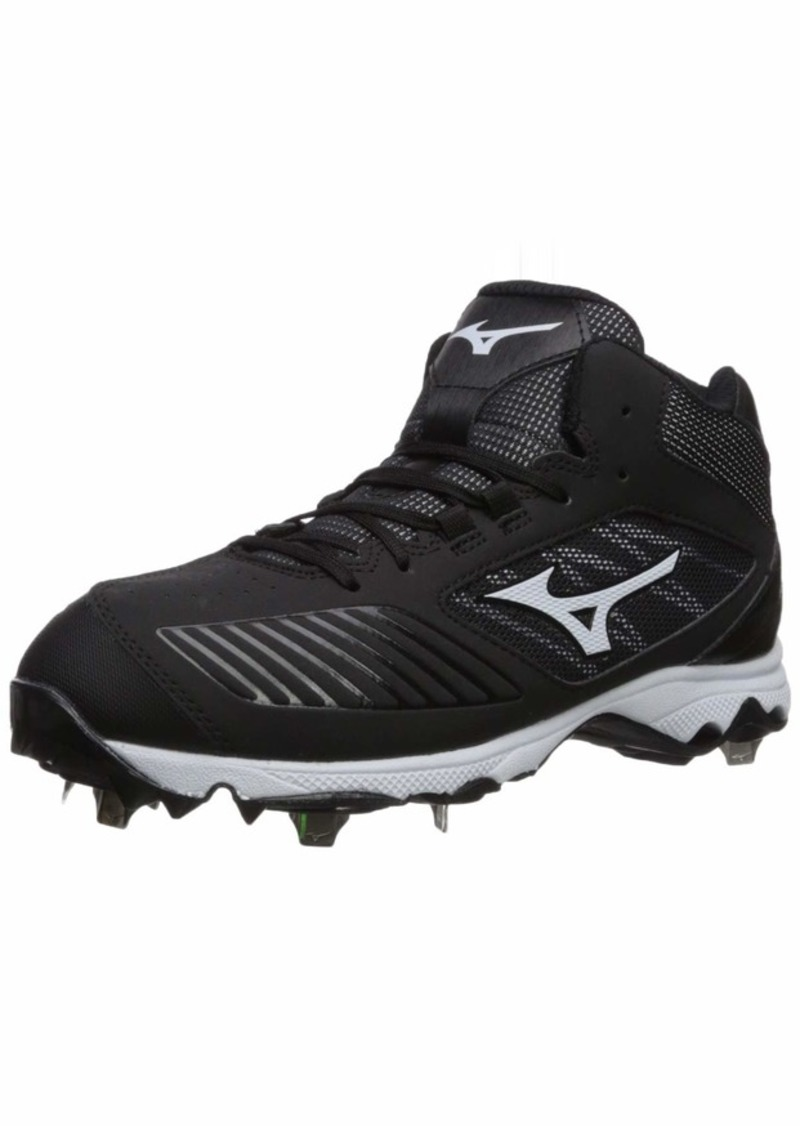 Mizuno Women's 9-Spike Advanced Sweep 4 Mid Metal Softball Cleat Shoe   B US