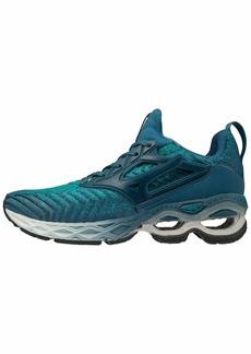 Mizuno Women's Creation WAVEKNIT 2 Running Shoe Lapis-Moroccan Blue