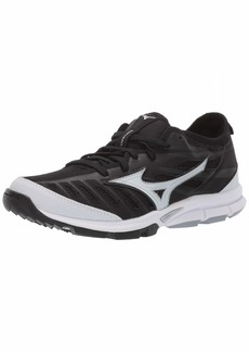 Mizuno Women's Players Trainer 2 Fastpitch Turf Softball Shoe   B US