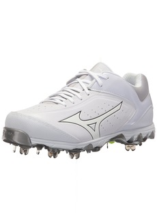 Mizuno Women's Swift 5 Fastpitch Cleat Softball Shoe   B US