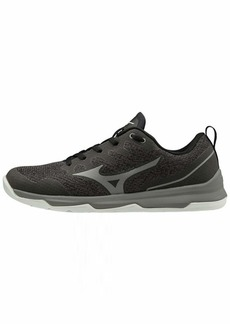 Mizuno Women's TC-02 Cross Training Shoe Cross Training Sneakers for all forms of Exercise Black-Grey  B US