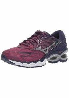 Mizuno Women's Wave Creation 20 Running Shoe Purple Potion-Silver  B US