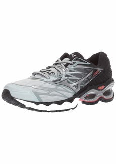 Mizuno Women's Wave Creation 20 Running Shoe Sky Gray-Silver 10.5 B US