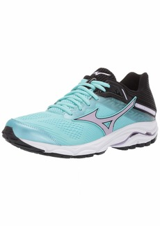 Mizuno Women's Wave Inspire 15 Running Shoe Angel Blue-Lavender Frost 6 B US
