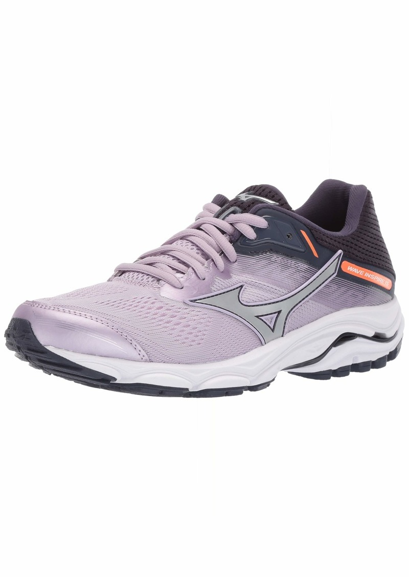 Mizuno Women's Wave Inspire 15 Running Shoe Lavender Frost-Silver  B US