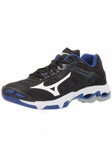 Mizuno Women's Wave Lightning Z5 Volleyball Shoe black-royal  B US