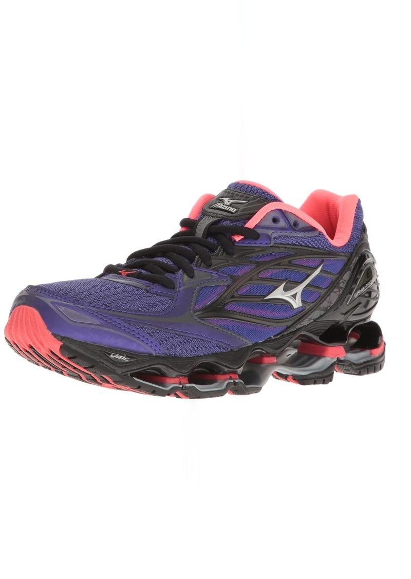 Mizuno Women's Wave Prophecy 6 Running Shoes Purple-Pink 6.5 B US