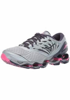 Mizuno Women's Wave Prophecy 8 Running Shoe Quarry-Graphite 6 B US
