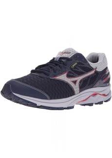 Mizuno Women's Wave Rider 21 GTX Running Shoe Athletic Shoe eclipse/silver
