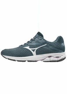 Mizuno Women's Wave Rider 23 Running Shoe citadel-glacier gray  B US
