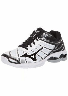 Mizuno Women's Wave Voltage Volleyball Shoe whiteblack  B US