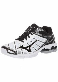 Mizuno Women's Wave Voltage Volleyball Shoe whiteblack  B US