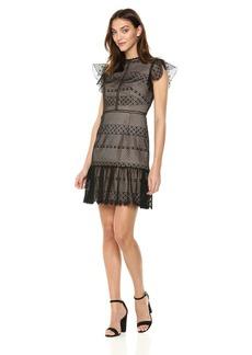 ML Monique Lhuillier Women's lace Cocktail Dress